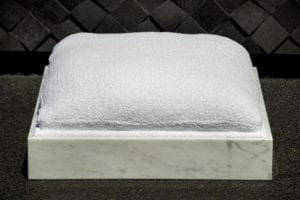 Carrara Marble Pet Bed