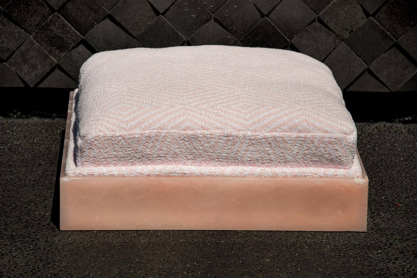 Pink Onyx Pet Bed