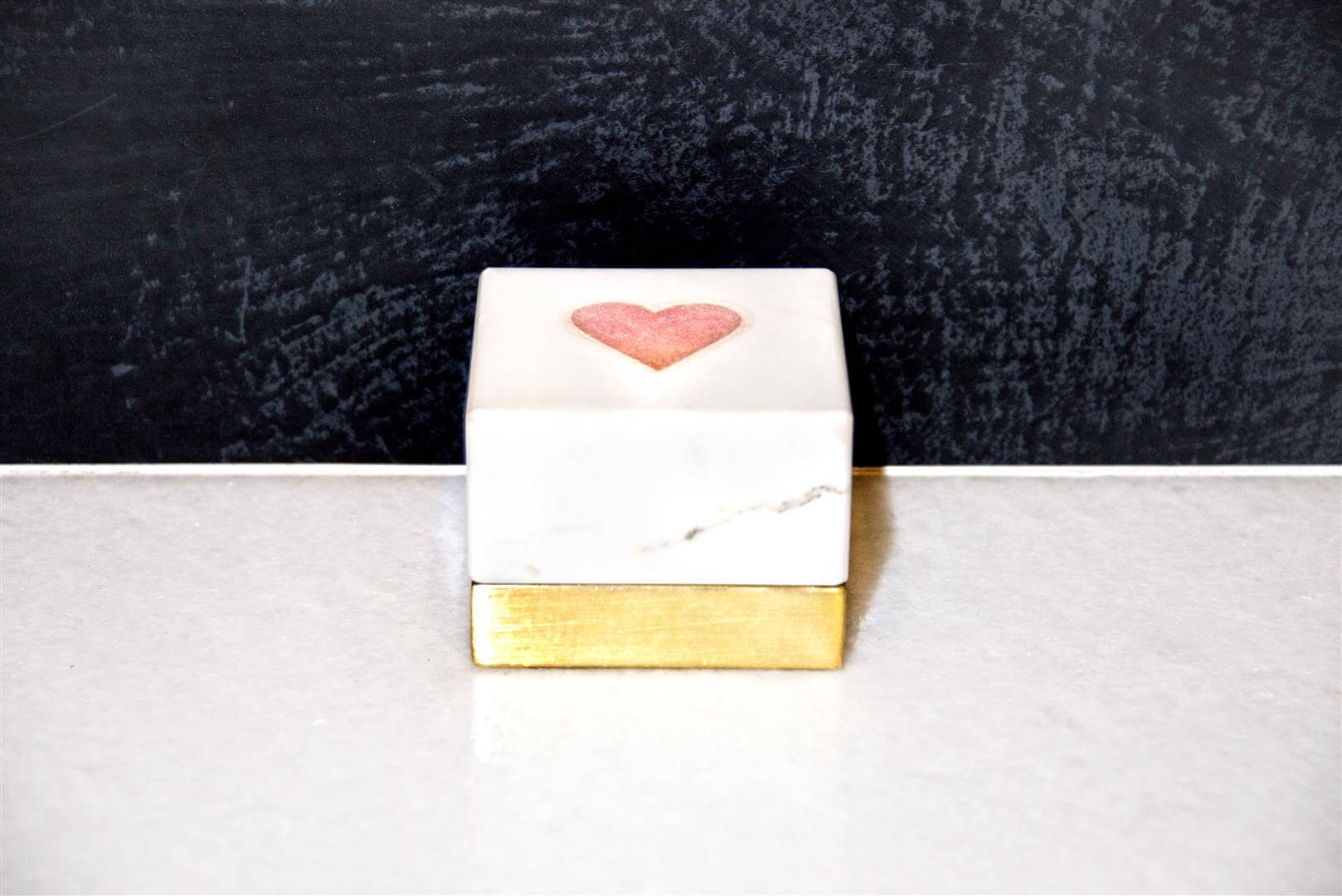 Pink Heart Keepsake Box